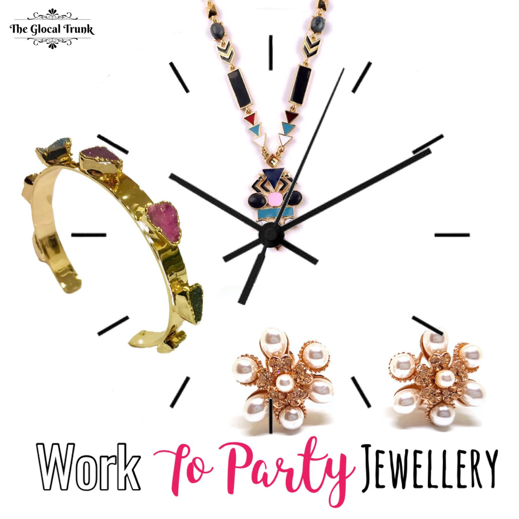 Work Hard, Party Harder And Accessorise For Both!