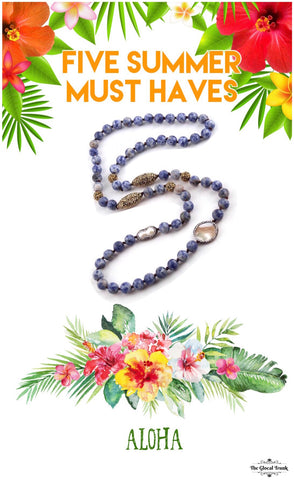 Five Jewellery Must Haves This Summer