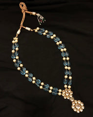 High Quality Kundan Necklace with Beads