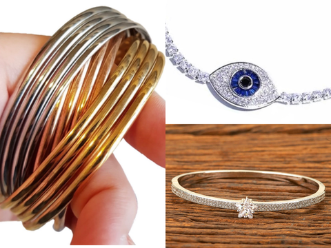 Buy the Evil Eye collection, American Diamond Cz collection & Bohemian jewellery collection for women Online