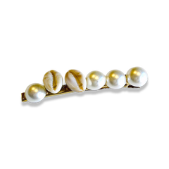 Shell and Pearl Hair clip