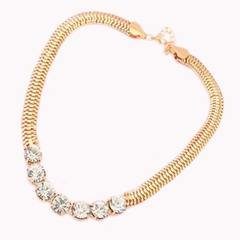 Gold and Stone Necklace