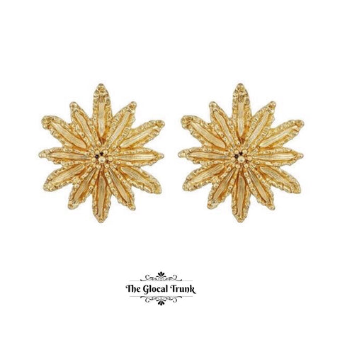 https://www.theglocaltrunk.com/products/golden-sun-stud-earrings