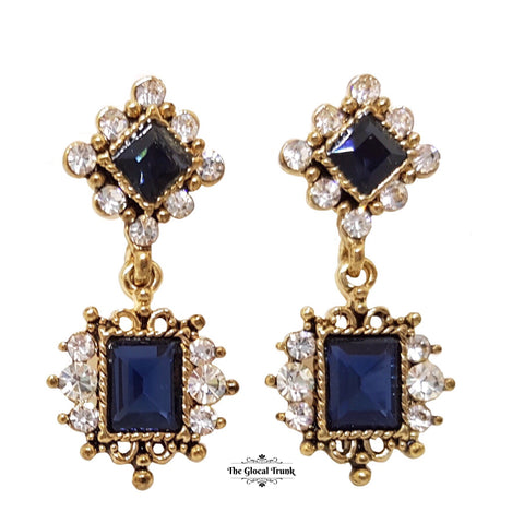 https://www.theglocaltrunk.com/products/victoria-vintage-dainty-earring-blue