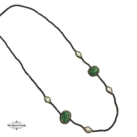 https://www.theglocaltrunk.com/products/natural-agate-stone-and-keshi-pearl-necklace-moss-green