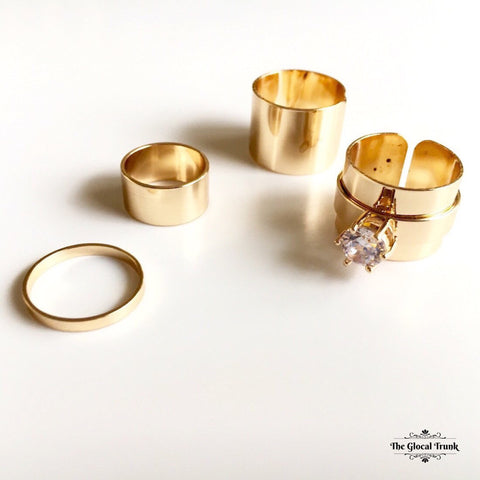 https://www.theglocaltrunk.com/products/boss-lady-set-of-4-rings