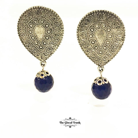 https://www.theglocaltrunk.com/products/indigo-drop-earrings