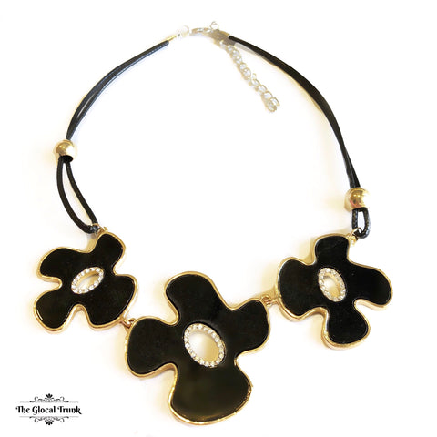 https://www.theglocaltrunk.com/products/summer-night-floral-stone-necklace