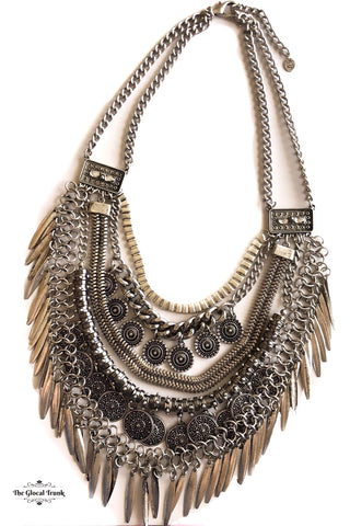 https://www.theglocaltrunk.com/products/bohemian-coin-tassel-antique-silver-necklace