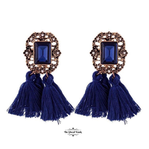 https://www.theglocaltrunk.com/products/countess-double-tassel-earrings-blue