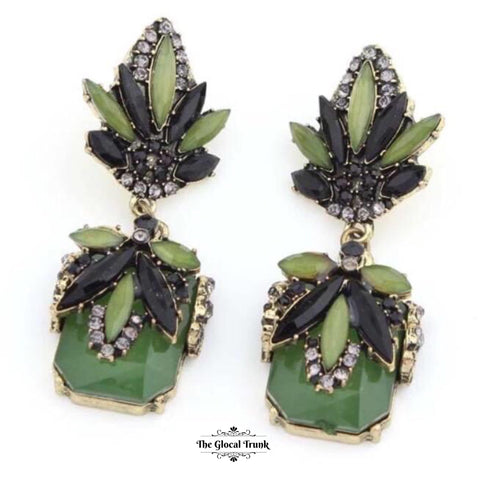 https://www.theglocaltrunk.com/products/flora-green-stone-and-crystal-earrings