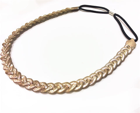 ACCENTED SILVER METAL HEADBAND
