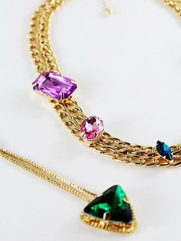 Avana Double Necklace