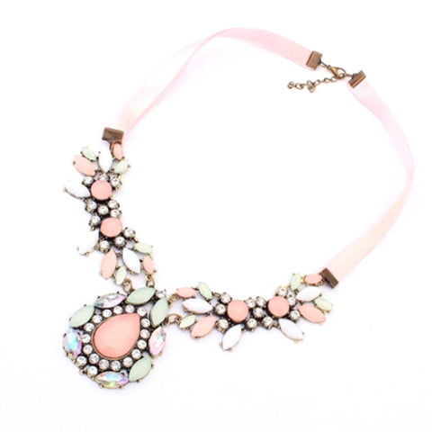 Ballerine Ribbon Necklace