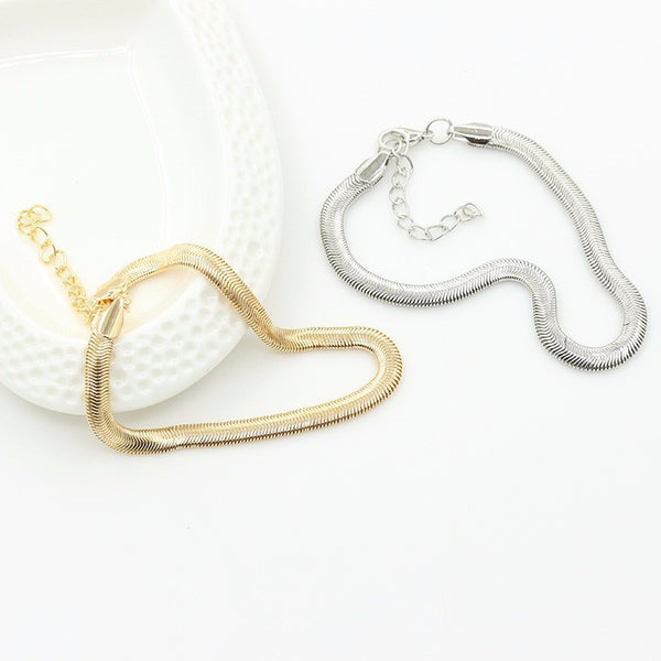 BEACH STYLE ANKLET GOLD/SILVER