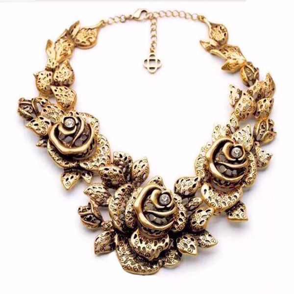 Bounty Rose Necklace