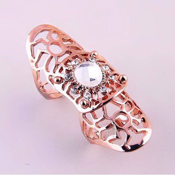 Chic Knuckle Ring Rose Gold
