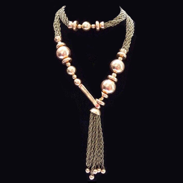 Cigana Beaded Hook Necklace