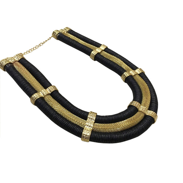 Cleo Contemporary Matinee Necklace