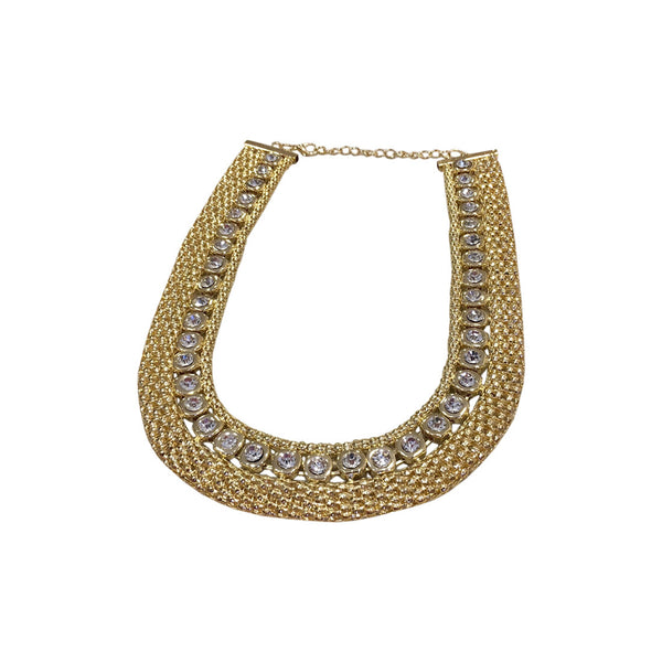 Cleo Matinee Necklace Gold