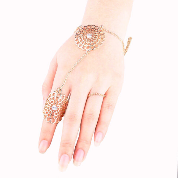 Desire Hand Harness Gold