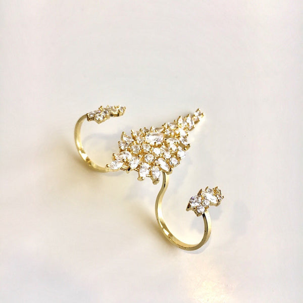 Droplets Crystal Double Ring