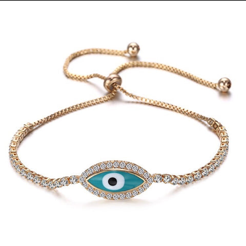 Eye Of Life Adjustable Bracelet