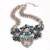 Flourish Multi-Stone Necklace