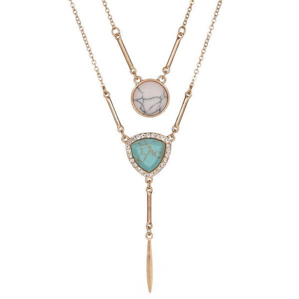 Granitas Duo Style Necklace