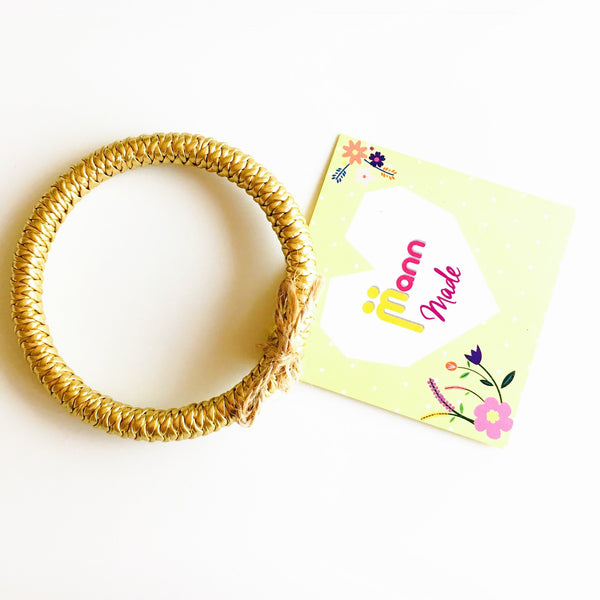 Braided Faux Leather Bangles