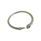 Ivy Wraparound Choker Necklace Silver
