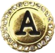 LETTER A - GOLD