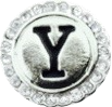 LETTER Y - WHITE