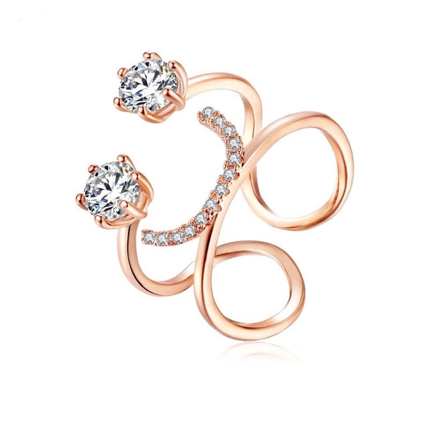 Morowa Finger Ring Rose Gold