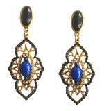 MOSAIC PERSIAN CRYSTAL EARRINGS