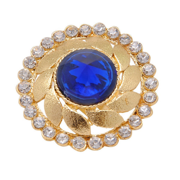 Mughal Blue Adjustable Ring