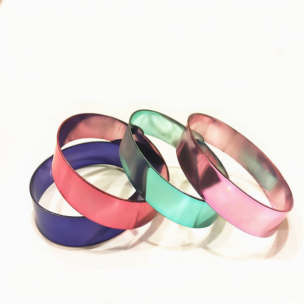 Myra Multicoloured Bangles Size 2/8 Set Of 4