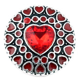MY VALENTINE CLICK BUTTON RED