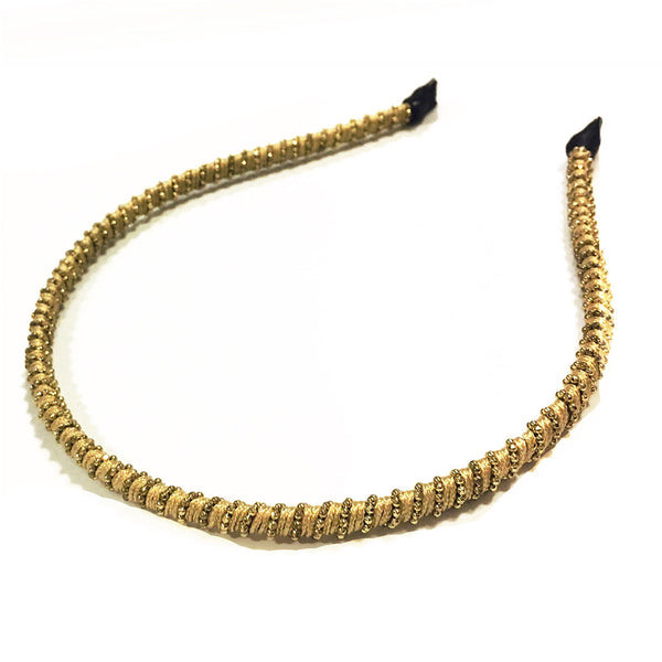 NATURAL SPIRAL STONE HAIRBAND