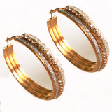 Parallel Love Shimmer Hoops