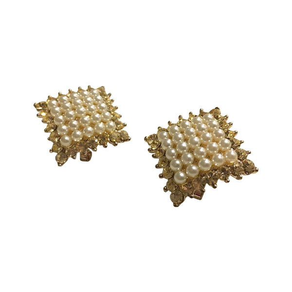 Pearl Grains Top Earrings