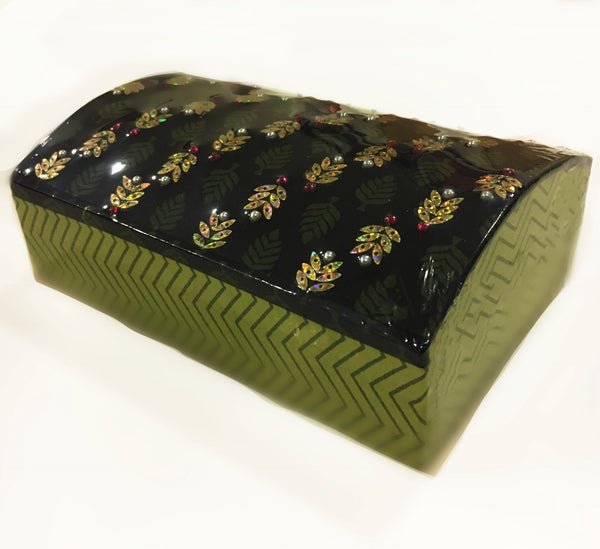 Pitara Jewellery Box Green