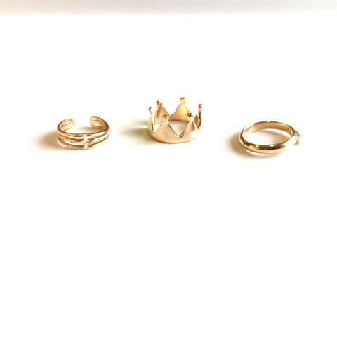 Royals Set Of 3 Rings