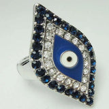 Sanct Adjustable Evil Eye Ring