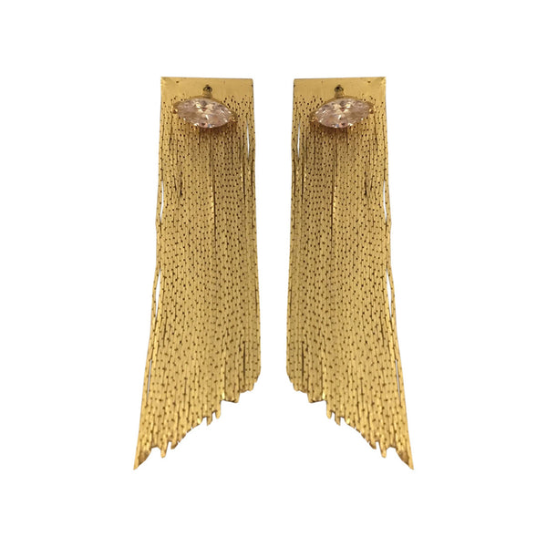 Shimmer Shower Drape Earrings