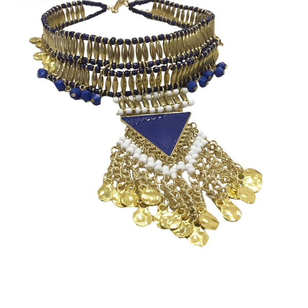 Soul Dance Tribal Choker Necklace