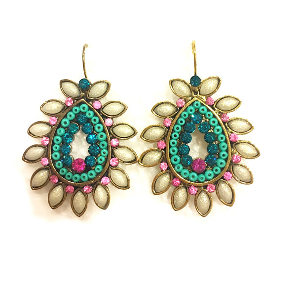 Spring Dance Multicolour Earrings