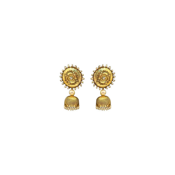 Surya Accentted Metal Jhumka