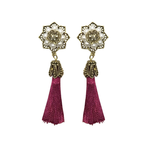 Tassel Tale Vintage Earrings