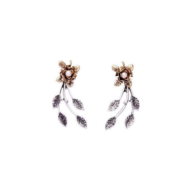 The Flower Double Earring